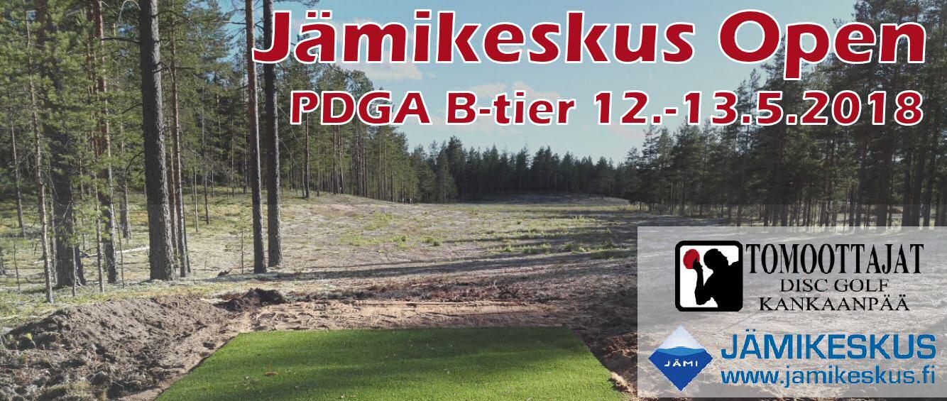 Jämikeskus Open 2018